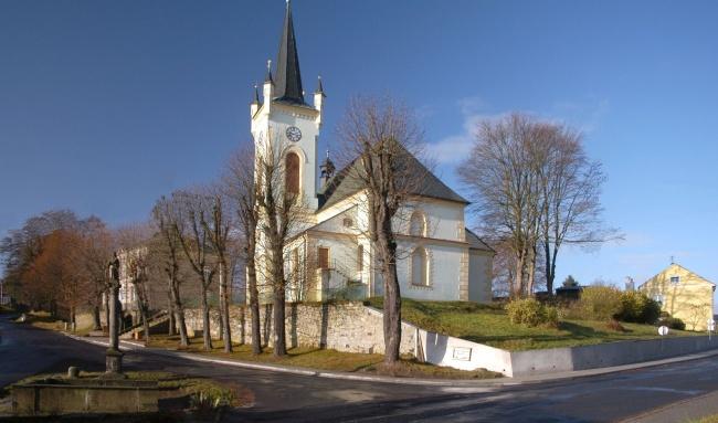 Krajková - Kostel sv. Petra  aPavla
