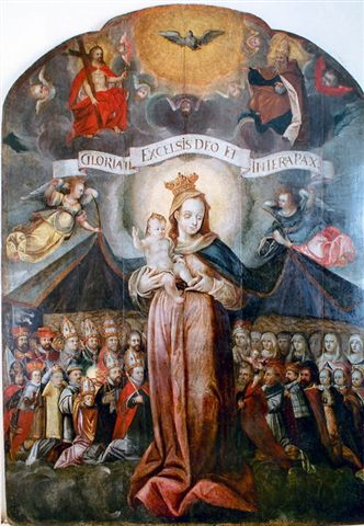 Obraz Panny Marie Ochranitelky, po r.1700