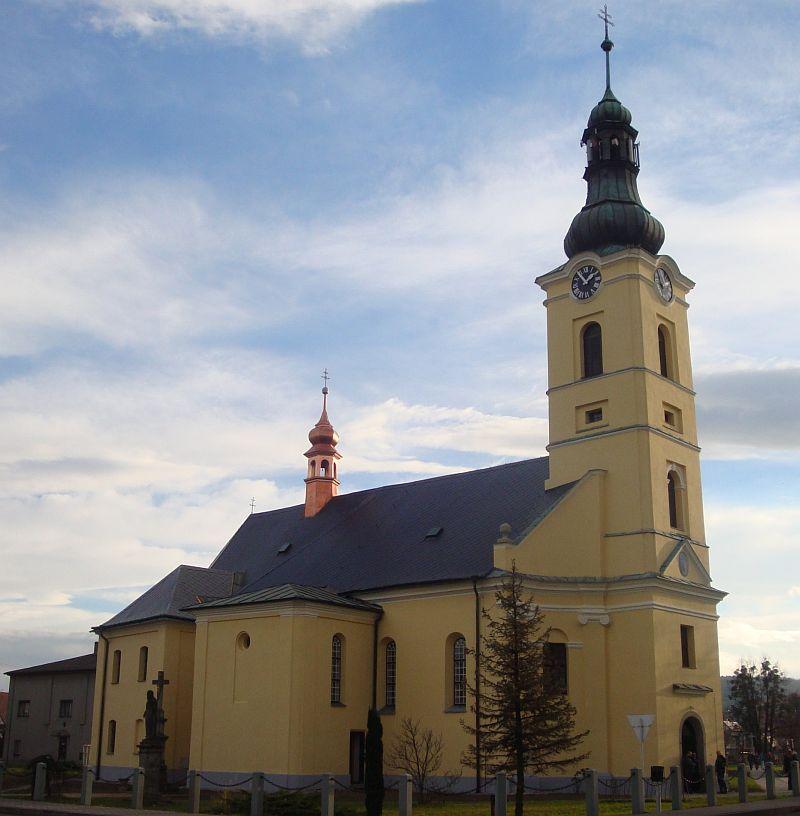 Kostel sv. Jiří vDobré