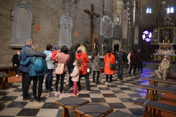 Noc kostelů v Třebíči (bazilika)