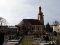 kostel Nejsvětější Trojice v Jindřichovicích pod S