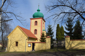 Knovíz, kostel Všech svatých