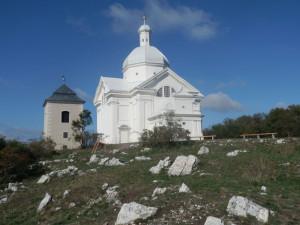 Mikulov-Svatý kopeček, kaple sv. Šebestiána