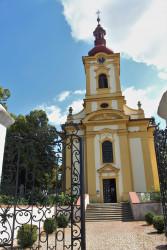 Kostel sv. Martina v Líbeznicích / průčelí s bránou / Autor fotografie: Zuzana Trojanová 2016
