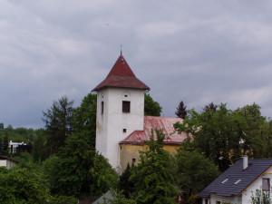 Kostel sv. Bartoloměje v Žandově / Celkový pohled