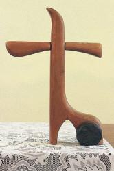 Libeňský dřevěný kříž
