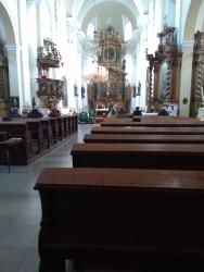 Kostel Povýšení sv. Kříže / Celkový pohled