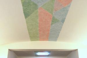 Tříbarevný stropní pruh