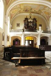 Kostel sv. Martina v Líbeznicích / Autor fotografie: Zuzana Trojanová 2016