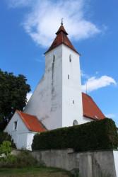 Kostel Narození sv.Jana Křitele v Hovorčovicích / Kostel Narození sv.Jana Křitele v Hovorčovicích pohled od silnice