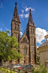 Praha 2 - Vyšehrad, bazilika sv. Petra a Pavla