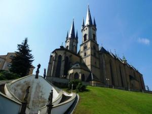 Cheb, kostel sv. Mikuláše a sv. Alžběty