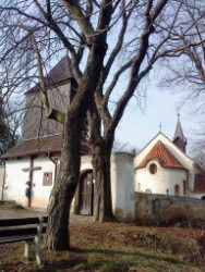 Praha 5 - Jinonice, kostel sv. Vavřince