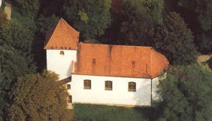 Moravany u Brna, kostel sv. Václava