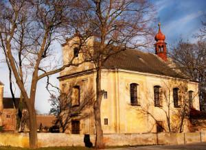Vroutek, kostel sv. Jana Křtitele