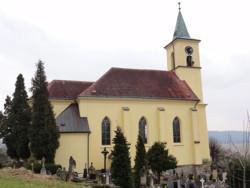 Všeň, kostel sv. Filipa a Jakuba