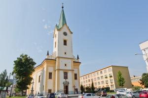 Zlín, kostel sv. Filipa a Jakuba / Zlín, kostel sv. Filipa a Jakuba