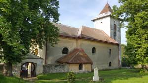 Kostel sv. Bartoloměje v Žandově / Severní strana kostela
