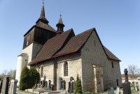 kostel sv. Vavřince, hřbitov