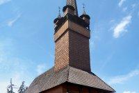 dřevěný kostelík Husova sboru