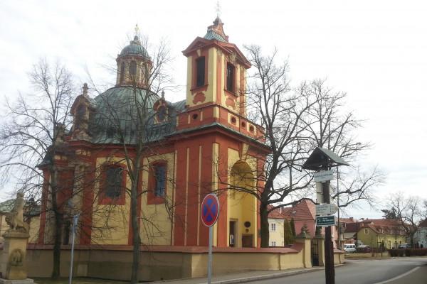 kostel Kunratice