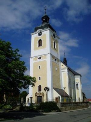Senice na Hané, kostel sv. Maří Magdalény