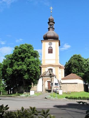 Kostel Narození Panny Marie Pičín / foto Ing. Josef Bedřich