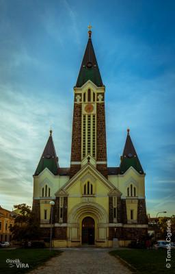 Kostel Nejsvětějšího Srdce Páně, Brno - Husovice