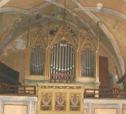 kostel sv. Ondřeje / Varhany
