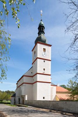 Ústí nad Labem - Krásné Březno, kostel sv. Floriána