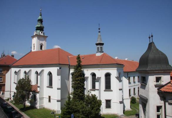 Uherské Hradiště, kostel Zvěstování Panny Marie / Uherské Hradiště, kostel Zvěstování Panny Marie