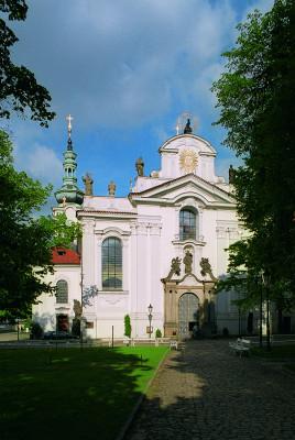 Bazilika Nanebevzetí Panny Marie na Strahově / průčelí