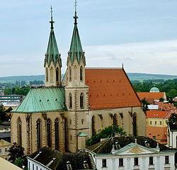 Kroměříž, kostel sv. Mořice