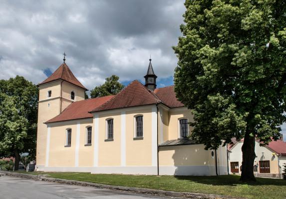 kostel sv. Maří Magdalény / kostel sv. Maří Magdalény v Dolní Cerekvi