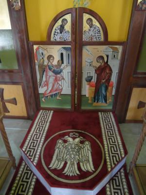 královské dveře / dveře do oltářního prostoru