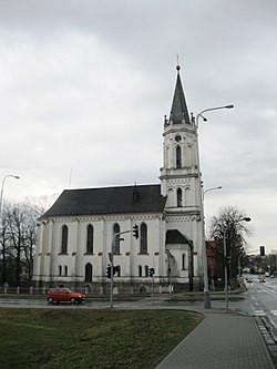 Bruntál, kostel CČSH / Bruntál, kostel CČSH