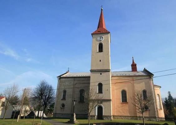 kostel Navštívení Panny Marie v Ženklavě