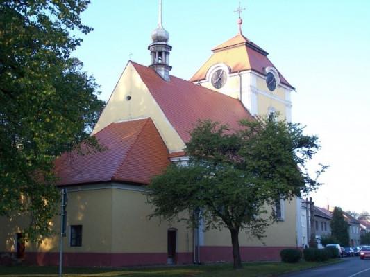 Mostkovice, kostel Nanebevzetí Panny Marie / Mostkovice, kostel Nanebevzetí Panny Marie