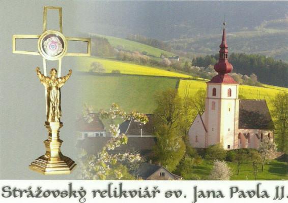 Relikviář sv. Jana Pavla II.