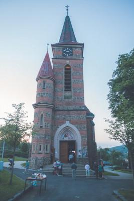Bílovice kostel sv. Cyrila a Metoděje
