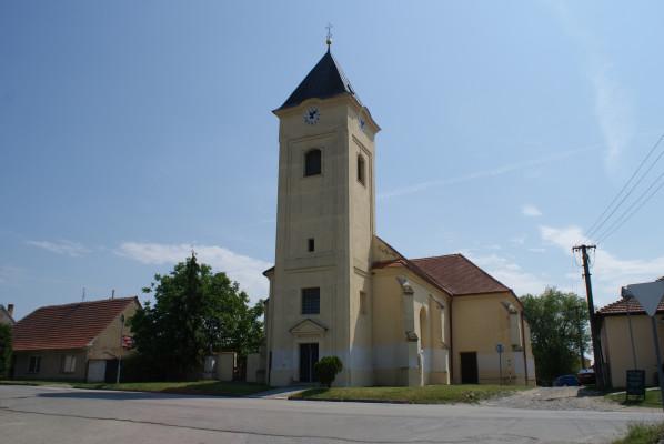 Kostel sv. Oldřicha a sv. Metoděje, Strachotín