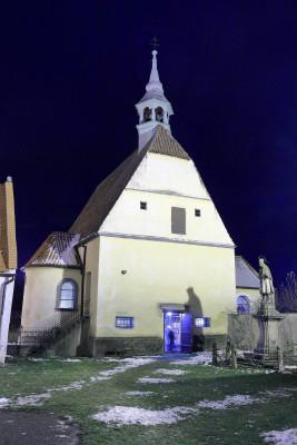 kaple sv. Floriána / Průčelí