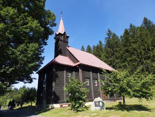 Staré Hamry-Gruň, kostel Panny Marie Pomocnice kře