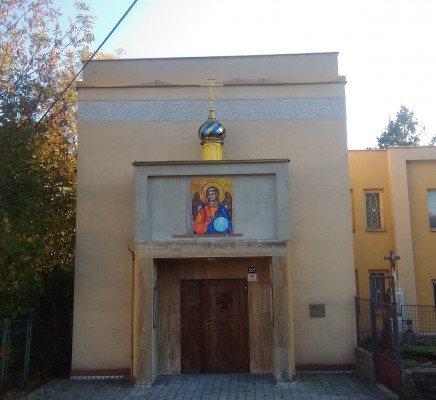 Průčelí kaple