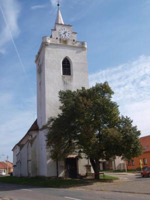 Dolní Věstonice, kostel sv. Michaela archanděla