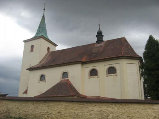 Hradec nad Svitavou, kostel sv. Kateřiny Alexandri / Hradec nad Svitavou, kostel sv. Kateřiny Alexandrijské