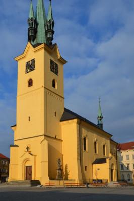 Kostel Sv. Jakuba Příbram