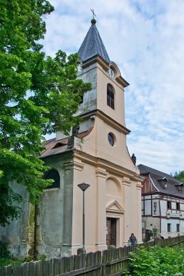 Kostel Nejsvětější Trojice v Dolním Žlebu