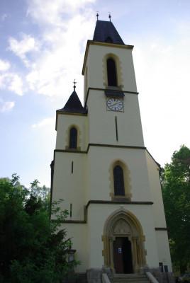 kostel Nanebevstoupení Panny Marie