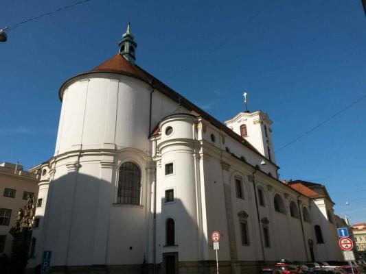 Brno, jezuitský kostel